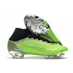 Nike Mercurial Superfly VIII Elite FG Verde Argento