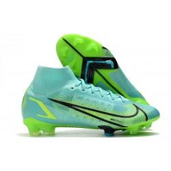 Nike Mercurial Superfly VIII Elite FG Turchese Dinamico Lime Glow