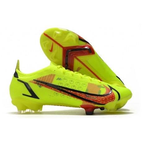 Nike Mercurial Vapor 14 Elite fg Volt Cremisi Vivace Nero