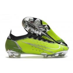 Nike Mercurial Vapor 14 Elite fg Verde Argento