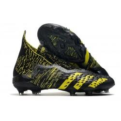 Scarpa da Calcio adidas Predator Freak+ FG Nero Giallo