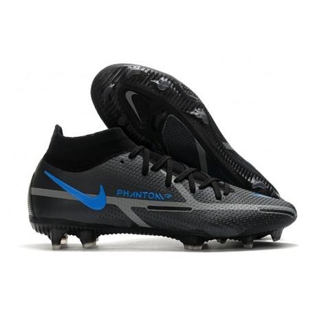 Scarpa Nike Phantom GT2 Elite DF FG Nero Grigio Ferro