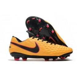 Nike Tiempo Legend 8 Elite FG Scarpa da Calcio Arancione Nero