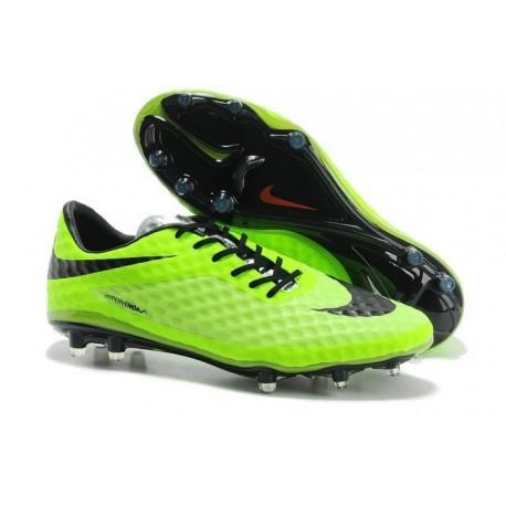 Scarpe calcio Nike HyperVenom Phantom FG - Uomo - Verde Nero