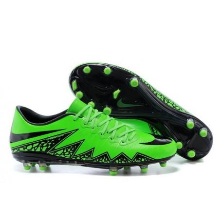 Scarpa da calcio Nike HyperVenom Phantom FG Uomo Verde Nero