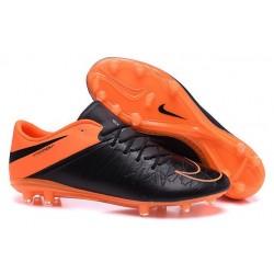 Scarpa da calcio Nike HyperVenom Phantom FG Uomo Arancione Nero