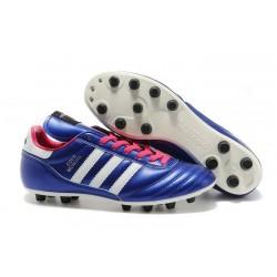 Nuove Adidas Scarpe calcio Copa Mundial Leather Viola Rosa Bianco