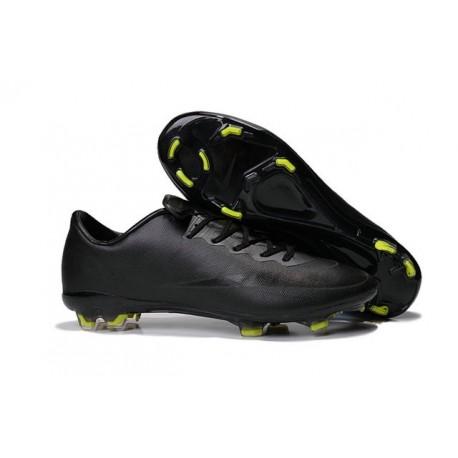 2015 Scarpa da calcio per terreni duri Nike Mercurial Vapor X - Uomo Nero Giallo
