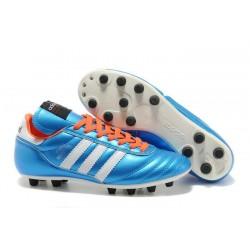 Scarpe Calcio Adidas Copa Mundial FG Nuove Bleu Blanc Orange
