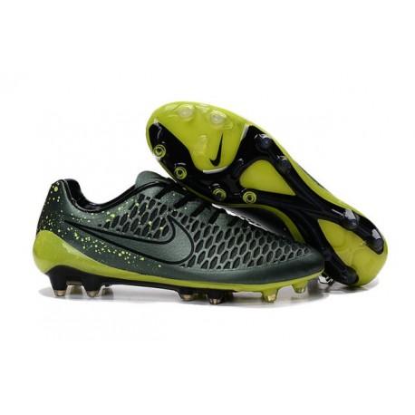 2016 Magista Opus fg Scarpa da calcio per terreni duri Nike - Uomo Agrume Scuro Volt Nero