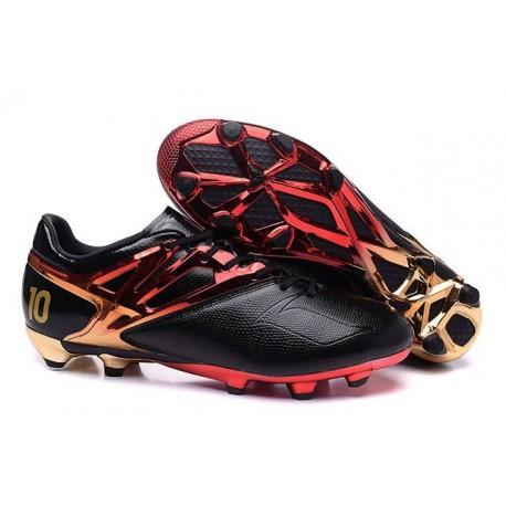 Adidas Messi 15.1 FG scarpe da calcio Uomo - Rosso Oro Nero