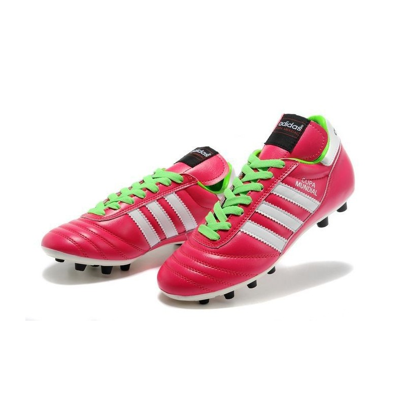 pick up 13bd2 7b00b Mundial Calcio Verde Adidas Copa Nuove Bianco Scarpe Rosa Leather xT6CvwZqYt