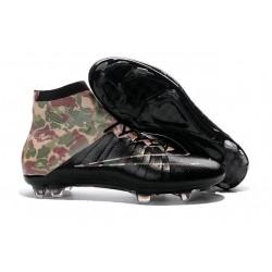 Scarpa da calcio per terreni duri Nike Mercurial Superfly - Camouflage Nero
