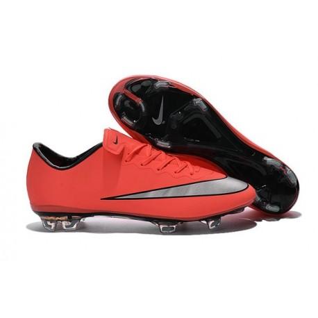 Nike Mercurial Vapor FG Scarpa da calcio per terreni duri - Uomo Nero Bianco Verde Blu Arancione Rosa Giallo