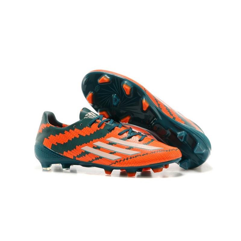 Arancione Fg Scarpe Pelle Bianco Trx Adizero Calcio F50 Adidas Verde l3ucFKT1J5