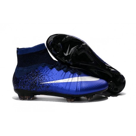 Nuove Scarpe calcio Nike Mercurial Superfly FG - Blu Royal Intenso Blu Racer
