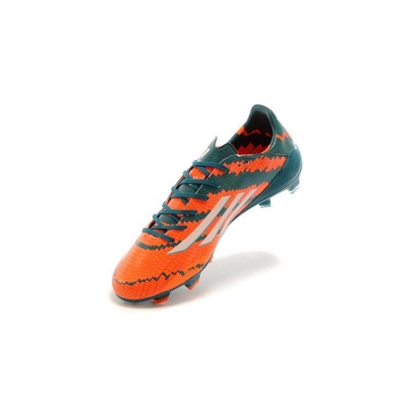 classic fit 99207 371d0 adidas f50 arancio
