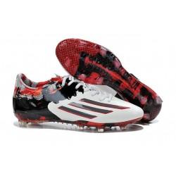 Adidas AdiZero F50 TRX FG Scarpe da Calcio per Uomo adidas Messi Pibe De Barr 10 10.1 FG Nero Rosso Bianco