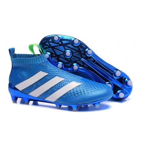 Scarpette Purecontrol Blu Calcio Bianco 16 Fg Nuovi Ag Adidas Ace Da B4wwd1