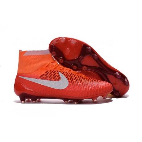 Scarpe calcio Nike Magista Obra FG - Uomo - Arancione Bianco