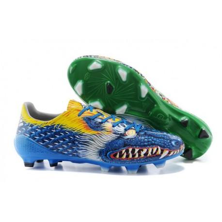 scarpe messi blu