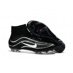 Nuove Scarpe calcio Nike Mercurial Superfly Heritage FG - Nero Argenteo