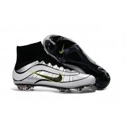 2016 Scarpe calcio Nike Mercurial Superfly Heritage FG - Uomo - Argenteo Nero Volt