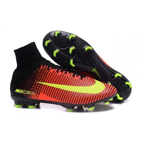 Scarpa da calcio Nike Mercurial Superfly V FG Uomo Cremise Totale Volt Rosa Blast
