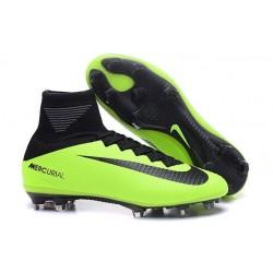 Scarpa da calcio Nike Mercurial Superfly V FG Uomo Nero Verde