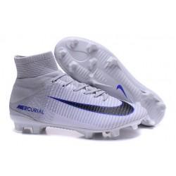 Scarpa da calcio Nike Mercurial Superfly V FG Uomo Bianco Nero Grigeo