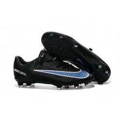 2016 Scarpe Calcio - Nike Mercurial Vapor XI FG Nero Blu