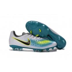 Nuove Nike Magista Opus II FG Scarpa da calcio per terreni duri - Bianco Blu Nero