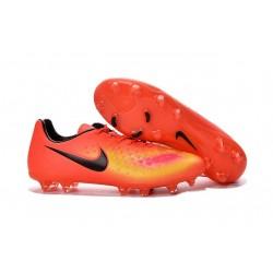 Nike Magista Opus II FG Scarpa da calcio - Uomo Orange Giallo Rosa Nero