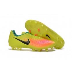 Nike Magista Opus II FG Scarpa da calcio per terreni duri - Volt Nero Arancione Totale
