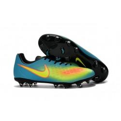 Nike Magista Opus II FG Scarpa da calcio per terreni duri - Blu Volt Arancione
