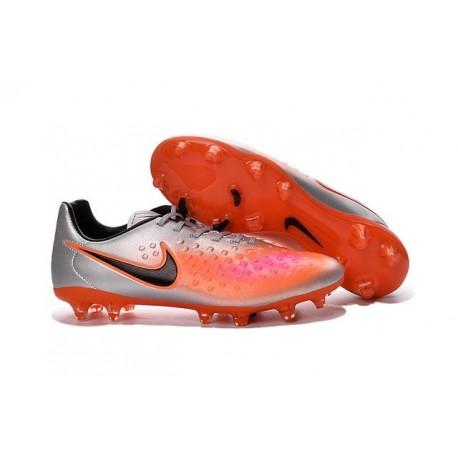 Scarpa da calcio per terreni duri Nike Magista Opus II - Uomo Argento Arancione Nero