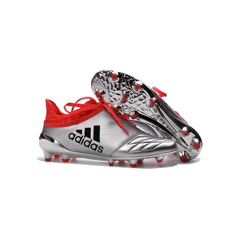 Purechaos X Argento Pelle 16 Scarpe Metallio Adidas Fg Calcio 0EwxqxzIY