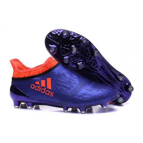Adidas X 16+ Purechaos FG Scarpini Calcio Uomo - Viola Arancione