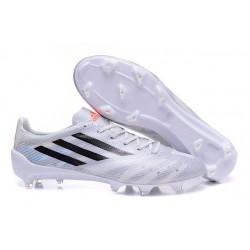 Adidas AdiZero F50 TRX FG LEATHER Scarpe da Calcio Pelle per Uomo Bianco Nero