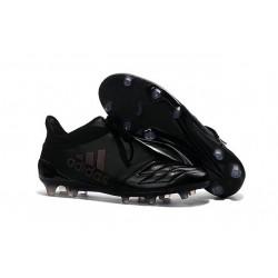 Nuove Adidas Scarpe Calcio X 16+ Purechaos FG - Pelle Tutto Nero