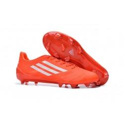 Adidas AdiZero F50 TRX FG Scarpe da Calcio per Uomo Arancione Bianco