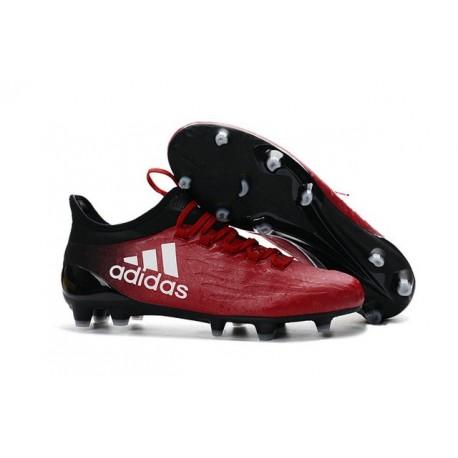 Scarpette da Calcio Adidas X 16.1 AG/FG Uomo Rosso Bianco Nero