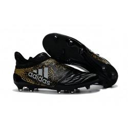 Scarpette da Calcio Adidas X 16+ Purechaos FG - Nero Oro