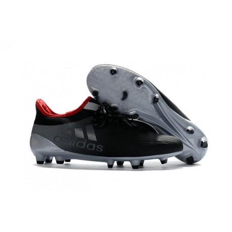 Scarpette da Calcio Adidas X 16.1 AG/FG Uomo Grigeo Nero