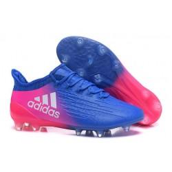 2016 Adidas X 16.1 AG/FG Scarpini Calcio Blu Rosa Bianco