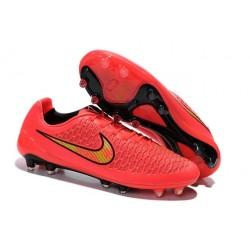 2015 Magista Opus Scarpa da calcio per terreni duri Nike - Uomo Rosa Volt Nero