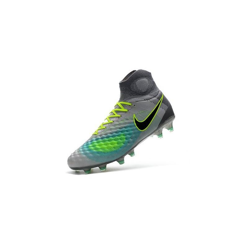 Nero Ii Obra Da Scarpe Nike Platino Verde Magista Calcio 2016 Puro Fg mnNwv80