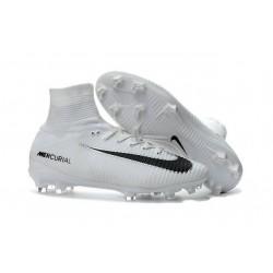 Scarpa da calcio Nike Mercurial Superfly V FG Uomo Bianco Nero