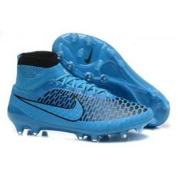 Nuove Nike Magista Obra Fg, Scarpe da calcio uomo Blu Nero