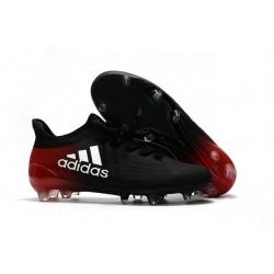 2016 Adidas X 16.1 AG/FG Scarpini Calcio Nero Bianco Rosso